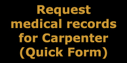 Quick Form for Carpenter records